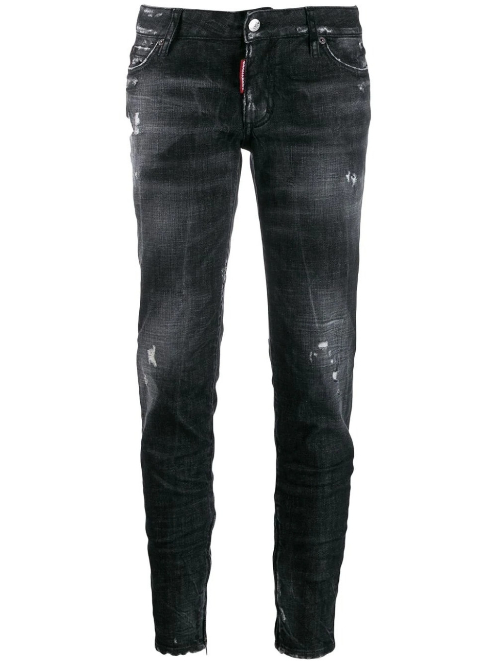 DSQUARED2 Distressed Tapered rifle (3)