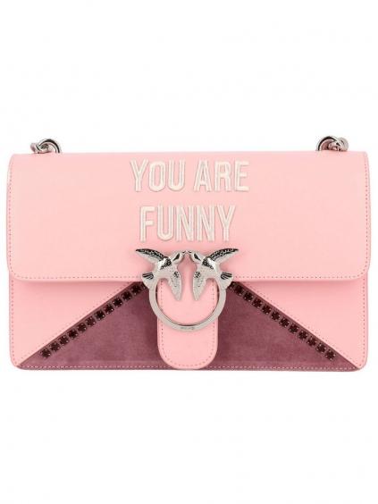 Pinko You Are Funny crossbody kabelka (2)