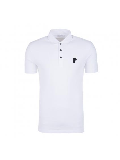 Pánske biele tričko Versace