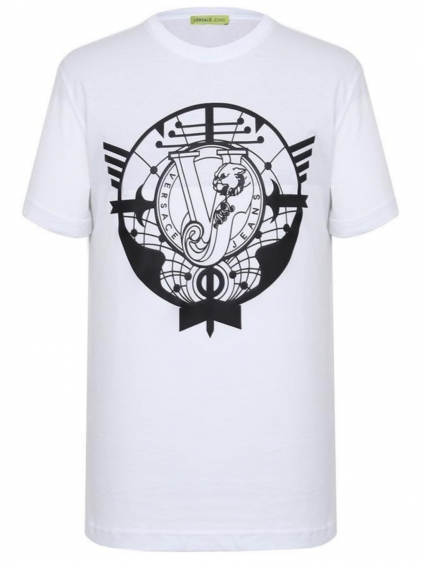 VERSACE JEANS Cot. Mars pánske tričko (1)