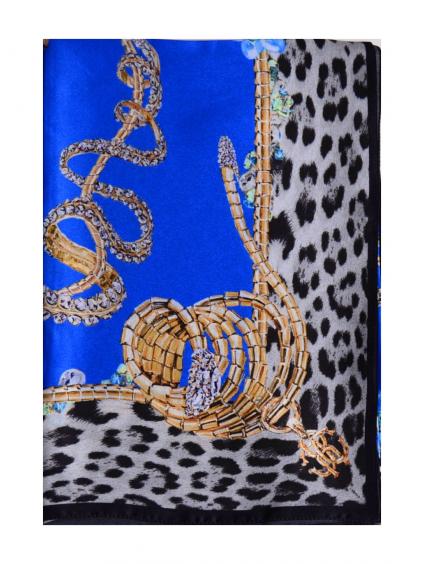 roberto cavalli C38028610 damska satka modrá (2)