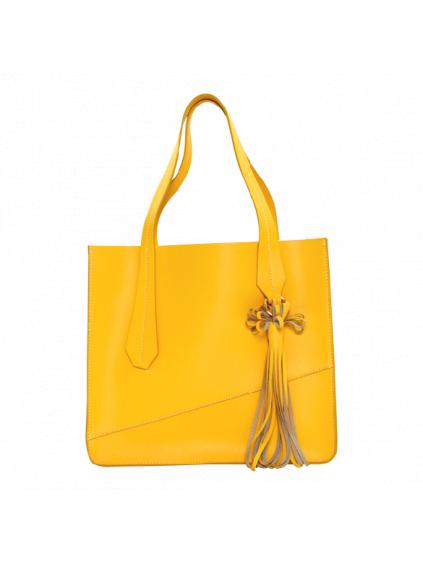 sara burglar damska kabelka žltá