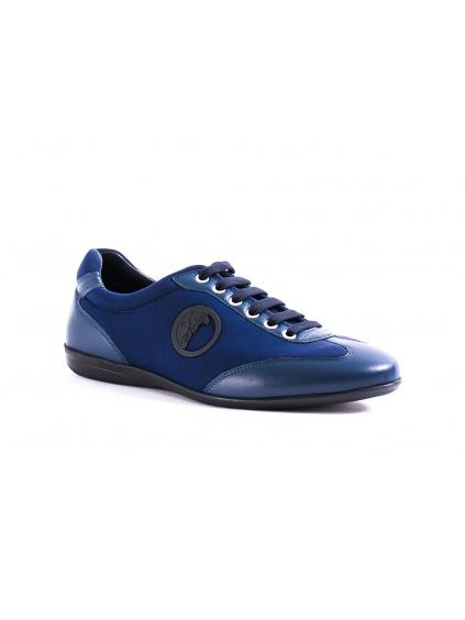 VERSACE COLLECTION Scarpe Blue pánske tenisky V900524 modre (1)