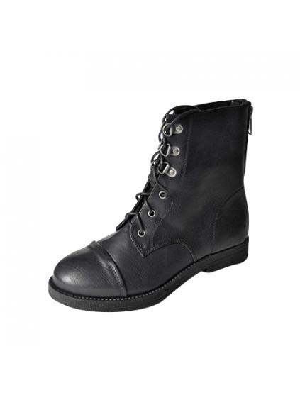 francesco milano dámske topánky eko koža čierne