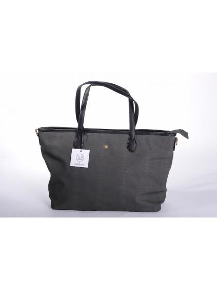 jennifer lopez jlo čierna farba elegantná dámska kabelka cestovná taška zlatá eko koža