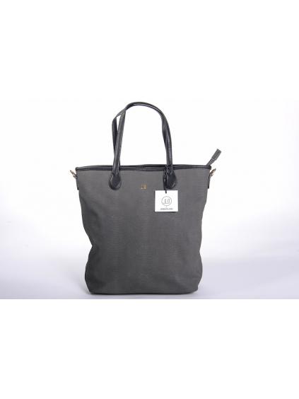 jennifer lopez jlo čierna farba elegantná dámska kabelka cestovná taška čierna eko koža 2