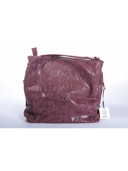 jennifer lopez jlo eko koža bordová dámska kabelka extravagantná varian m zlatá 1