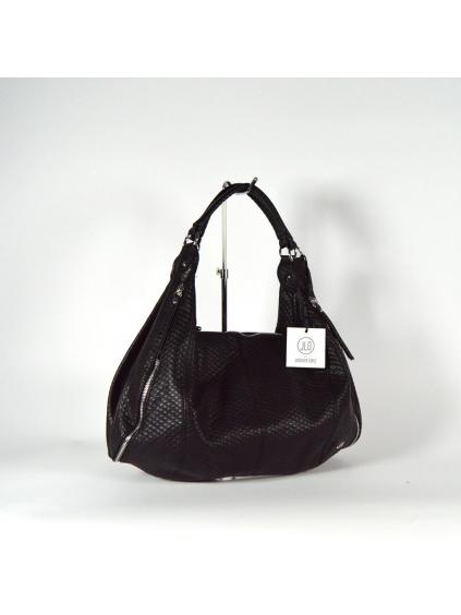 jennifer lopez jlo eko koža čierna dámska kabelka extravagantná varian m