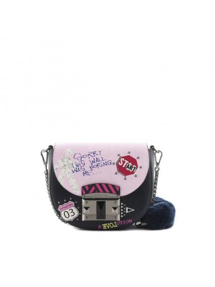 cromia Trendy crossbody bag dámska kabelka 1403889 ružová