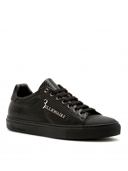 O18S MSC1686 BTE004N 0292 lo top sneakers original billionaire pánske tenisky čierne