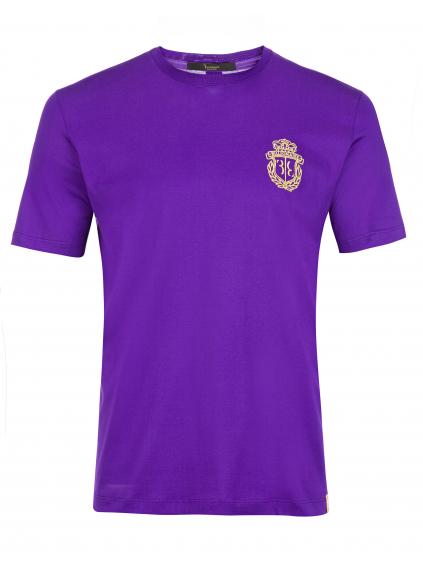 O18C MTK2633 BTE014N 73 ss crest billionaire pánske tričko purple fialové