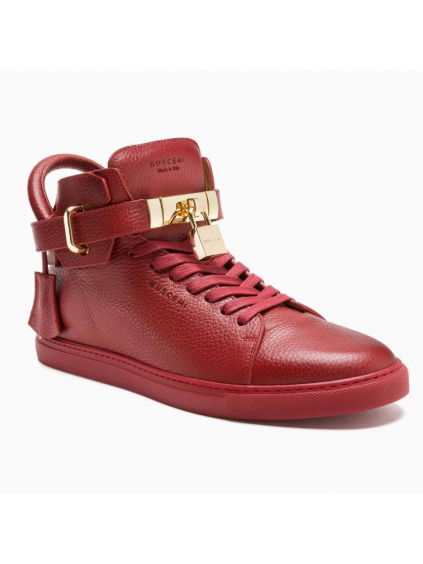 buscemi 100mm bordo red panske damske tenisky bordove (3)