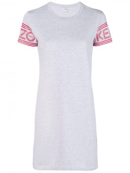 kenzo sport tshirt dress 2R075698593 damske tricko sive dlhe (2)