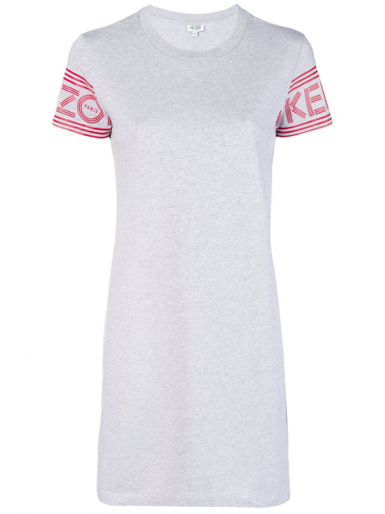 35a911ed1edd kenzo sport tshirt dress 2R075698593 damske tricko sive dlhe (2)