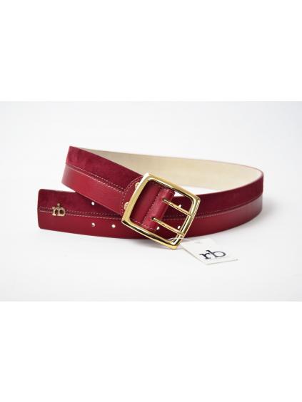 roccobarocco cinta abbigliamento damsky opasok cerveny (1)