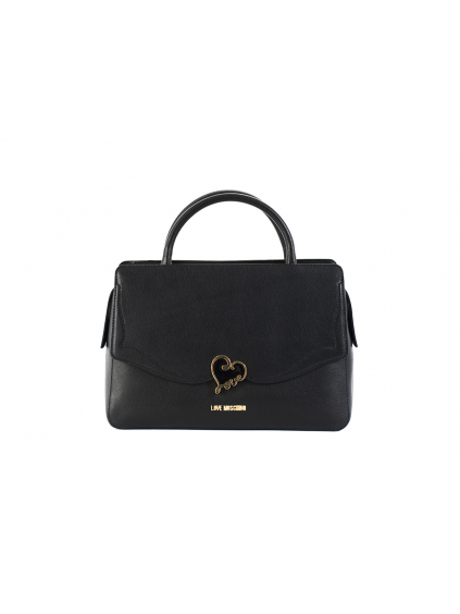 love moschino soft pebble calf nero JC4076PP14LJ0000 damska kabelka cierna (2)