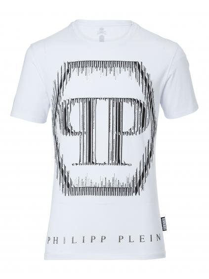 philipp plein break tshirt white A17C MTK1564 PJY002N panske tricko biele (2)