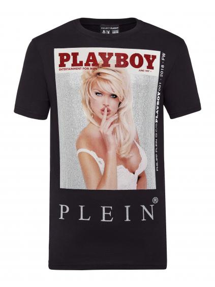 philipp plein playboy tshirt A18C MTK2810 PJY002N panske a damske tricko cierne (1)