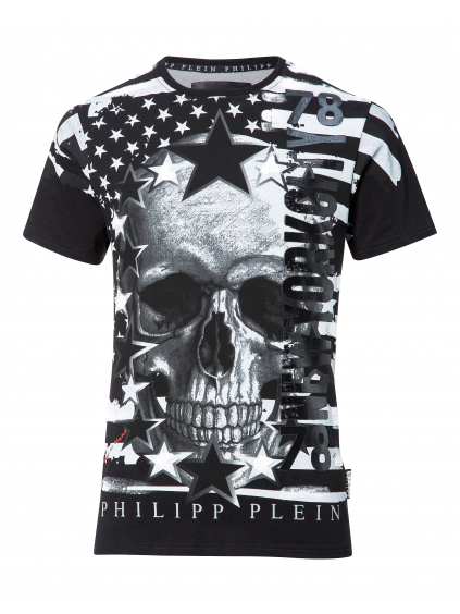 philipp plein by hand black A17C MTK1577 PJY002N panske tricko cierne (3)