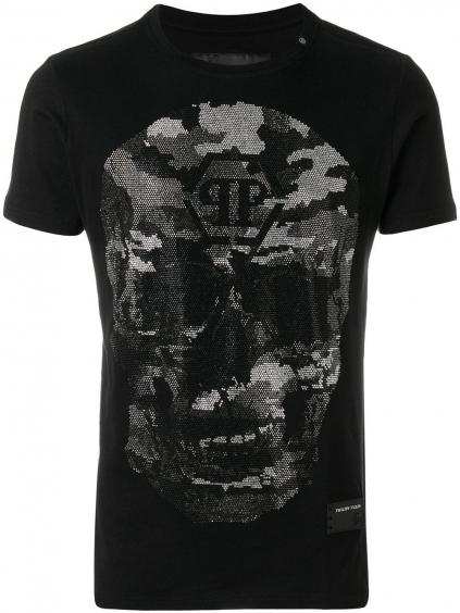 philipp plein bad s tshirt black S18C MTK1895 PJY002N panske tricko cierne (2)