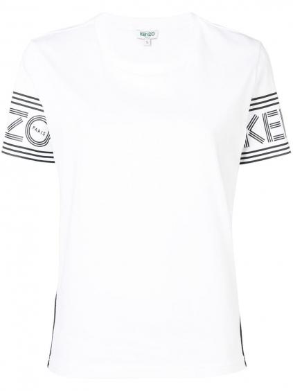 kenzo new sport damske tricko biele white (1)