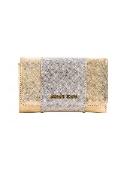 ARMANI JEANS Inghilterra damska peňaženka 9280857P763 zlata (4)