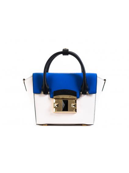 cromia ladies bag saffiano 1403637 damska kabelka modra mala (2)