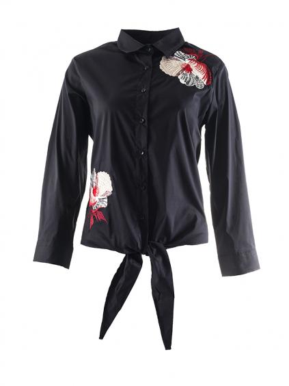 WHITNEY JEANS Toronto dámska košeľa čierna (2)