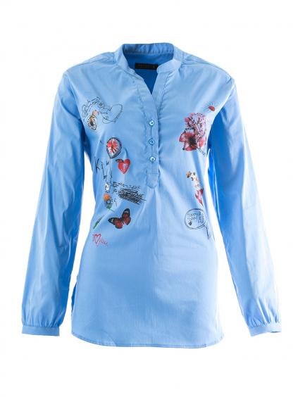 WHITNEY JEANS Toronto dámska košeľa modrá (2)