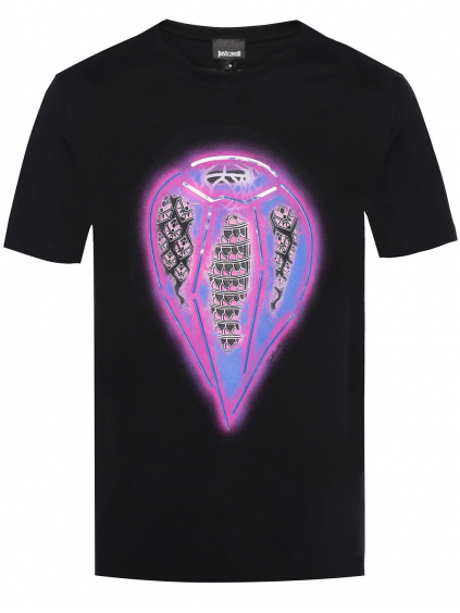 Just Cavalli Printed - pánske tričko
