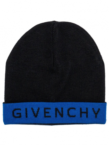 GIVENCHY Logo čierna čiapka (2)