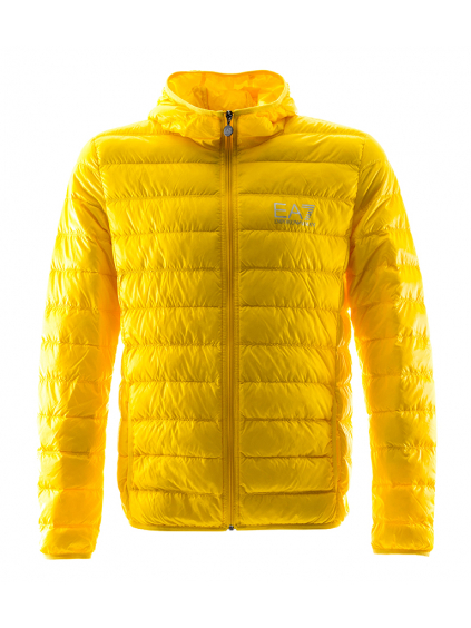 Emporio Armani Yellow páperová bunda prechodná žltá