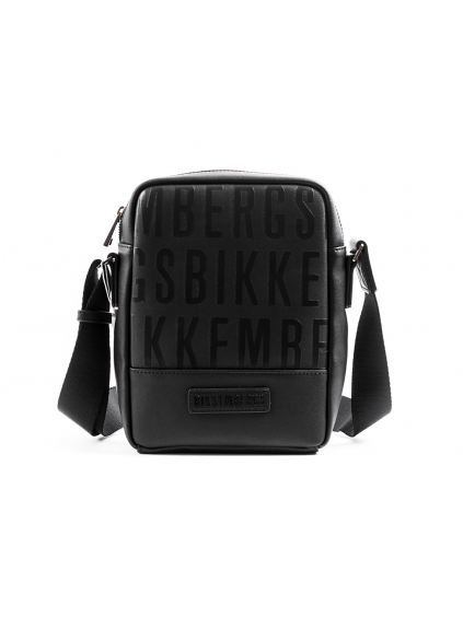 Bikkembergs Business pánska crossbody taška 8056034268109 E93PME620022D38 čierna (3)