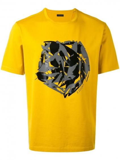 Z Zegna Abstract pánske tričko