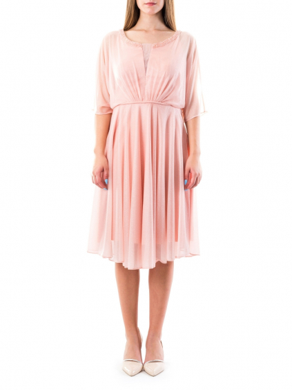 FOR COSTUME Pink spoločenské šaty (3)