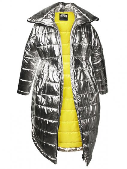 #VDR Silver dámska zimná bunda parka (7)