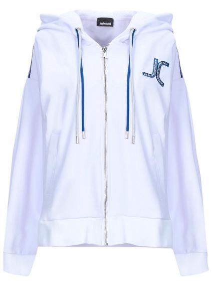 JUST CAVALLI JC Logo White mikina (2)