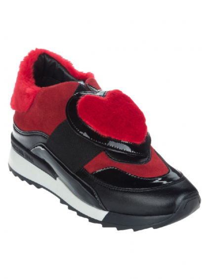 LOVE MOSCHINO Scarpad Power Rosso (4)