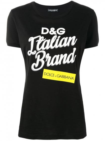 DOLCE & GABBANA Logo dámske tričko (1)