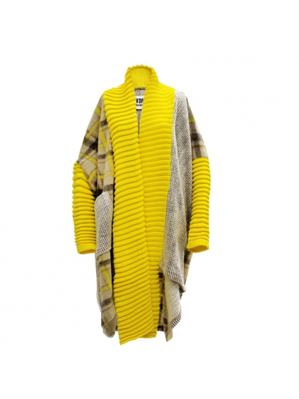 #VDR Original Yellow Oversize kabát