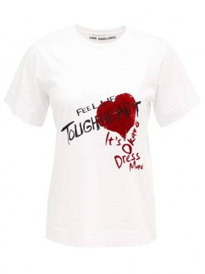 #VDR Touch Heart tričko (2)