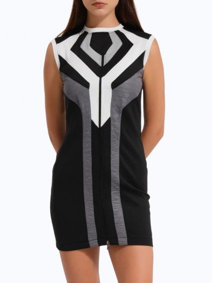 #VDR Siyah Nero šaty (1)