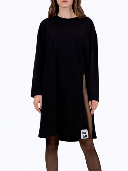 #VDR LS Black dlhé tričko cierne (2)