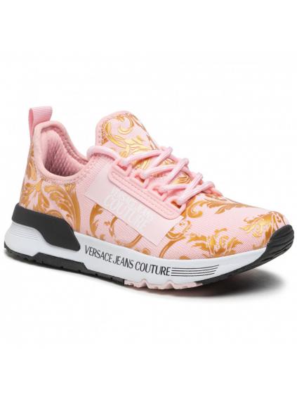 versace jeans couture E0VWASA5 pink aerodynamic damske tenisky