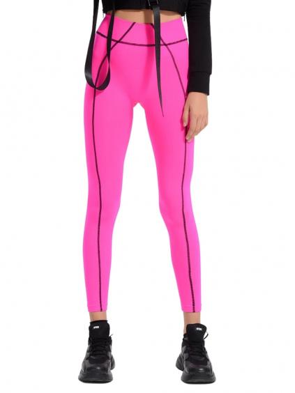 #VDR Pink dámske legíny (2)