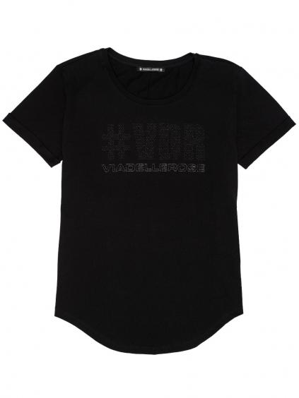 #VDR Logo Black tričko