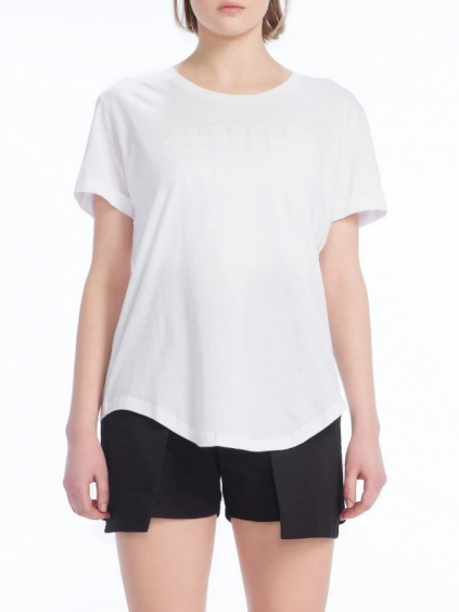 #VDR Logo White tričko (1)