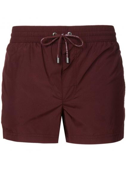 dolce gabbana Red Swim Shorts