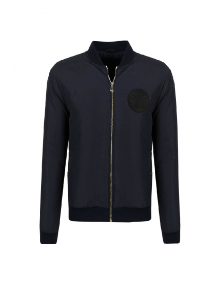 versace collection blouson zippato