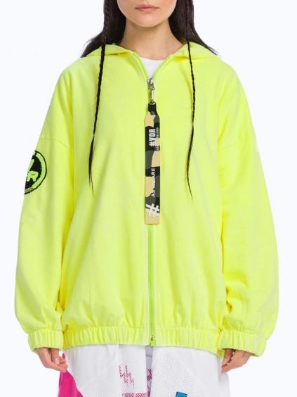 #VDR Giallo Neon mikina (1)